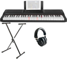 Smart piano The ONE Light Keyboard - Onyx Black SET