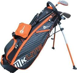 MKids Golf MK Lite Half Set Left Hand Orange 49in - 125cm