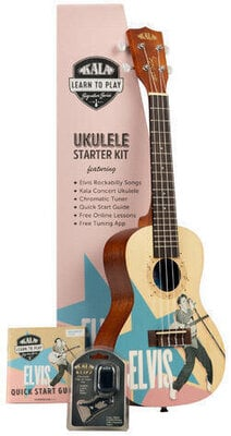 Kala Learn To Play Elvis Rockabilly Concert Starter Kit