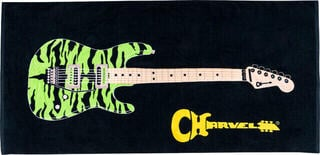 Charvel Beach Towel Black