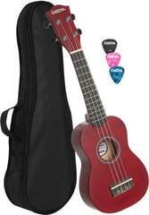 Cascha HH 3961 Sopránové ukulele Červená