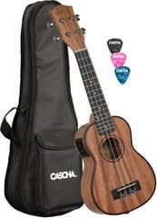 Cascha HH 2026 E Sopránové ukulele Natural