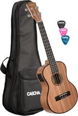 Cascha HH2048E Tenorové ukulele Natural