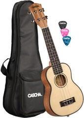 Cascha HH 2148 Sopránové ukulele Natural