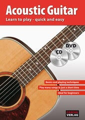 Cascha Acoustic Guitar Learn To Play Quick And Easy Kotta