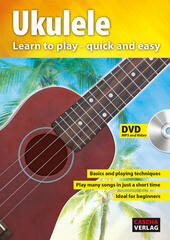 Cascha Ukulele Learn To Play Quick And Easy Music Book