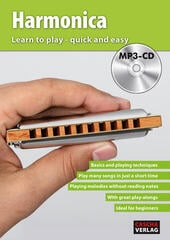 Cascha Harmonica Learn To Play Quick And Easy Music Book
