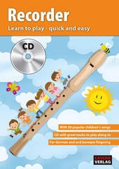 Cascha Recorder Learn To Play Quick And Easy Music Book