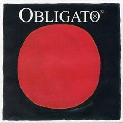 Pirastro Obligato 3/4-1/2 Violin E Ball steel medium