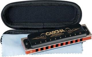 Cascha Professional Blues Harmonica in G