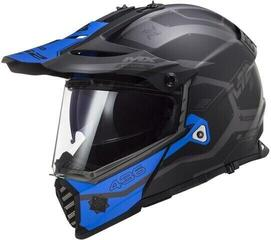 LS2 MX436 Pioneer Evo Matt Black Blue