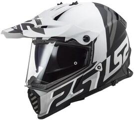 LS2 MX436 Pioneer Evo Matt White Black