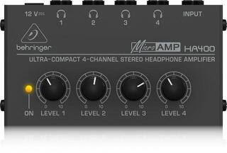 Behringer HA 400 MICROAMP Headphone amplifier