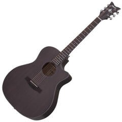 Schecter Orleans Studio Acoustic Satin See Thru Black