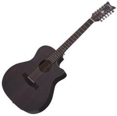 Schecter Orleans Studio-12 Acoustic Satin See Thru Black