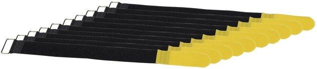 RockBoard Cable Tie - 40 x 400 mm Yellow, 10 pcs