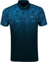 Galvin Green Mason Ventil8+ Mens Polo Shirt Navy/Mosaic Blue