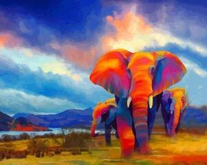 Gaira Elephants M1362