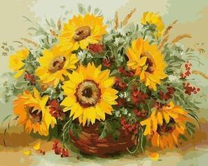 Gaira M1304KD 40 x 50 cm Sunflowers 2