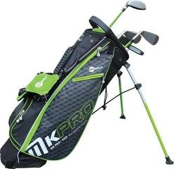 MKids Golf Pro Half Set Left Hand Green 57in - 145cm