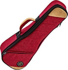Ortega OSOCAUK-SO-BX Gigbag for ukulele Bordeaux Red