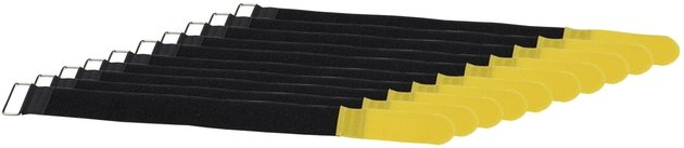 RockBoard Cable Tie - 50 x 500 mm Yellow, 10 pcs