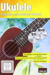 Cascha Ukulele - Fast and easy way to learn (with CD and DVD)