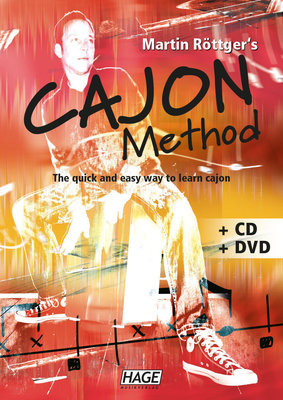 HAGE Musikverlag Cajon Method (CD & DVD)