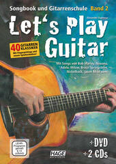 HAGE Musikverlag Let's Play Guitar Volume 2 with DVD and 2 CDs