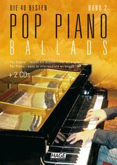 HAGE Musikverlag Pop Piano Ballads 2 (2x CD)