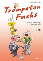 HAGE Musikverlag Trumpet Fox Volume 1 (incl. CD) German
