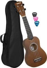 Cascha HH 3966 Szoprán ukulele Barna