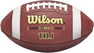 Wilson TDJ Leather Football Junior
