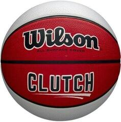 Wilson Clutch Basketball Red/White 7