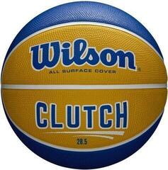Wilson Clutch Basketball Yellow/Blue 6