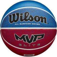 Wilson MVP Elite Basketball Red/White/Blue 6