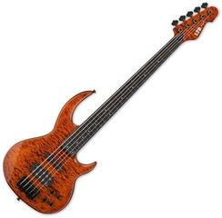 ESP LTD BB-1005 Fretless Burnt Orange