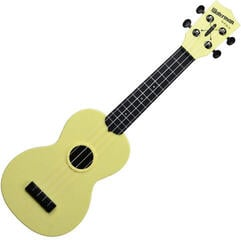 Kala Waterman Soprano Pale Yellow Matte Black Side and Back