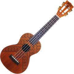 Mahalo MJ2BA TBR Ukulele da Concerto Transparent Brown