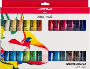 Amsterdam Standard Series Acrylics Set 24 x 20 ml
