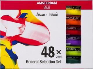 Amsterdam Standard Series Acrylics Set 48 x 20 ml