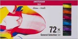 Amsterdam Standard Series Acrylics Set 72 x 20 ml