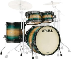 Tama ME42TZUS Starclassic Maple Emerald Pacific Walnut Burst