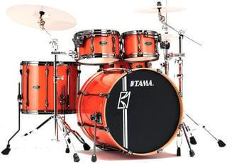 Tama MK42HLZBN Superstar Hyper‐Drive Maple Bright Orange Sparkle