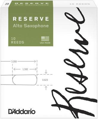 D'addario-Woodwinds Reserve 3 alto sax