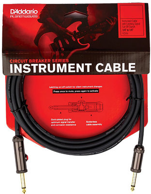 D'Addario Planet Waves PW-AGL-15 Instrument Cable-Lifetime Warranty