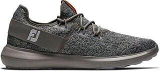 Footjoy Flex Coastal Mens Golf Shoes Black/Charcoal US 10