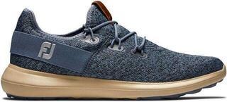 Footjoy Flex Coastal Mens Golf Shoes Blue/Black US 9