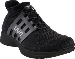 UYN Man X-Cross Tune Shoes Black Sole Optical Black/Black