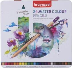 Bruynzeel Expression Water Colour Pencils Tin 24